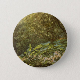 Victorian Fairies, Under the Dock Leaves by Doyle Pinback Button