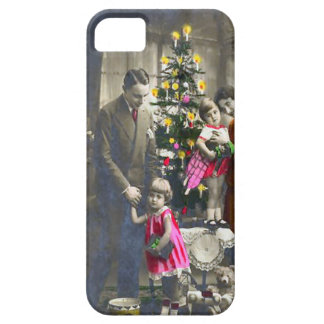 Victorian family Christmas iPhone 5 Cases