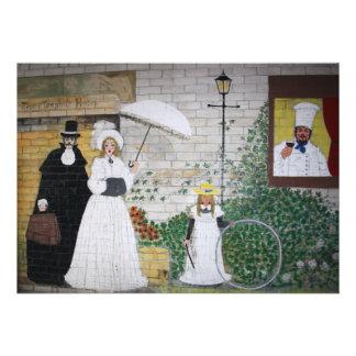 Victorian Family Scene Invitation