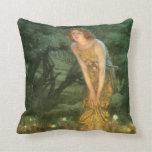 Victorian Fantasy Fine Art  Throw Pillow