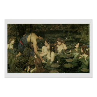 Victorian Fantasy  Painting Art Print 36x24