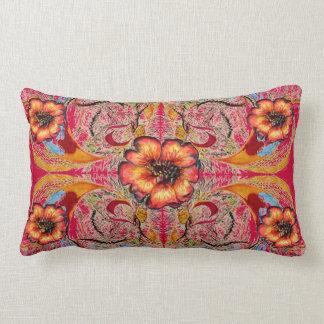 "Victorian Fantasy ""Raspberry"" by Alexandra Cook Throw Pillows"