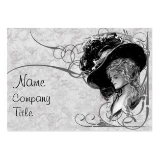Victorian Fashion Large Business Card