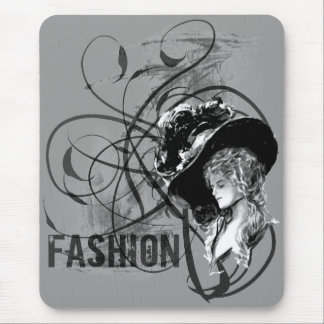 Victorian Fashion Mouse Pad