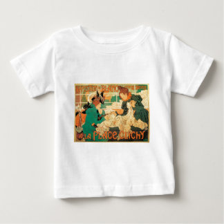 Victorian fashion store Art Nouveau French poster Baby T-Shirt