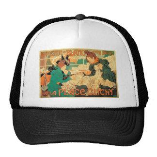 Victorian fashion store Art Nouveau French poster Trucker Hat