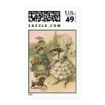 VICTORIAN FASHIONS GIRLS W DOLLS MAIL STAMPS! POSTAGE STAMPS
