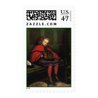 VICTORIAN FASHIONS LITTLE VAGABOND GIRL STAMPS! POSTAGE
