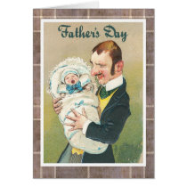 Victorian Father's Day Card