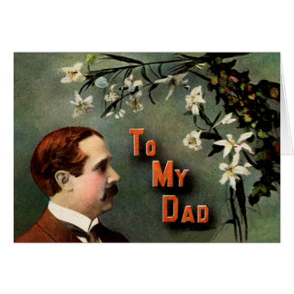 Victorian Father's Day Greeting Card