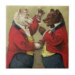 Victorian feliz, osos gay, de bailes del vintage teja