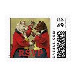 Victorian feliz, osos gay, de bailes RSVP del Sello