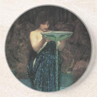 Victorian Fine Art, Circe Invidiosa by Waterhouse Coaster