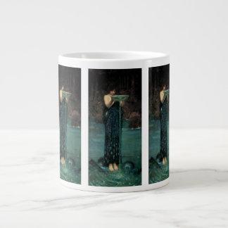 Victorian Fine Art, Circe Invidiosa by Waterhouse Giant Coffee Mug