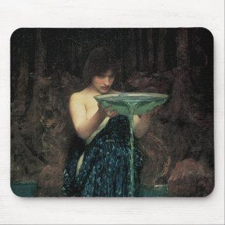 Victorian Fine Art, Circe Invidiosa by Waterhouse Mouse Pad