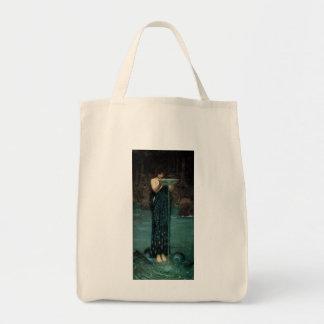 Victorian Fine Art, Circe Invidiosa by Waterhouse Tote Bag