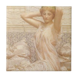 Victorian Fine Art, Silver by Albert Joseph Moore Ceramic Tile