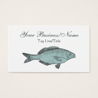 Victorian Fish Business Card