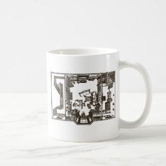 Victorian flat mugs