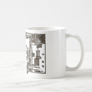 Victorian flat mug