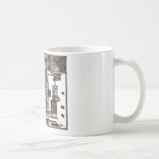 Victorian flat coffee mugs
