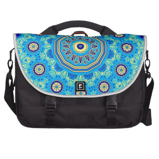 Victorian Flora and Fauna Blue Commuter Bags