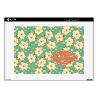 Victorian Floral Laptop Skin