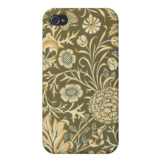 Victorian Floral Paisley Olive Speck Case iPhone4