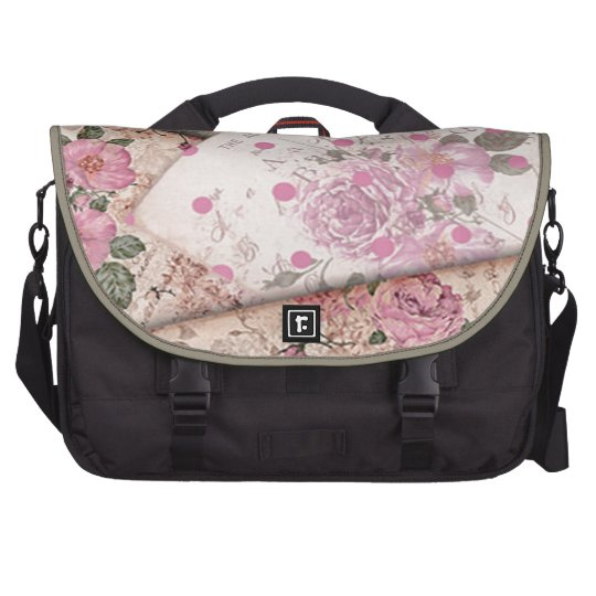 Victorian floral papers. bags for laptop