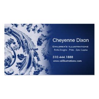 Victorian Flourish custom designer business card