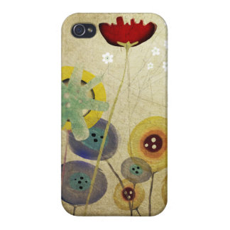 Victorian Flowers Cover For iPhone 4