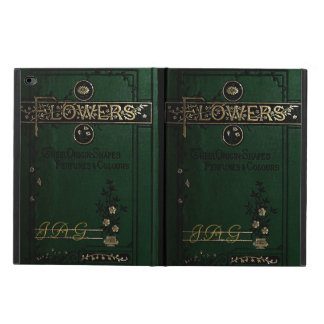 Victorian Flowers Old Book Cover Powis iPad Air 2 Case