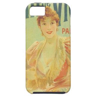 Victorian French bathtub advertisement woman iPhone SE/5/5s Case