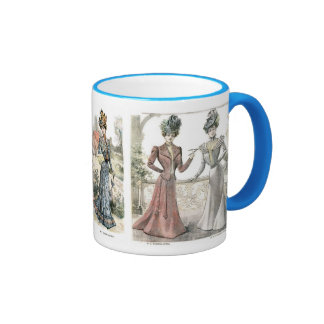 Victorian French Fashion Mug