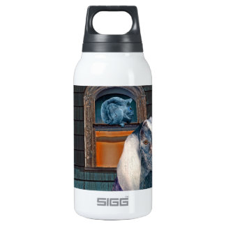 Victorian Friends Cute Goat and Squirrel Fantasy Insulated Water Bottle