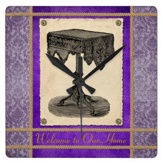 Victorian Furniture Ornate Antique Table Clock