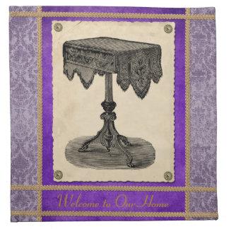 Victorian Furniture Ornate Antique Table Napkin