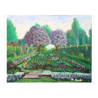 Victorian Garden at the Fuller Gardens Postcard
