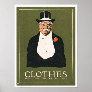 Victorian Gent Ad Fall/Winter 1916/1917 Art Print