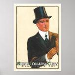 Victorian Gentleman Ad Shirts Art Print Poster