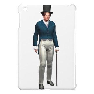 Victorian Gentleman in a Blue Coat iPad Mini Cover