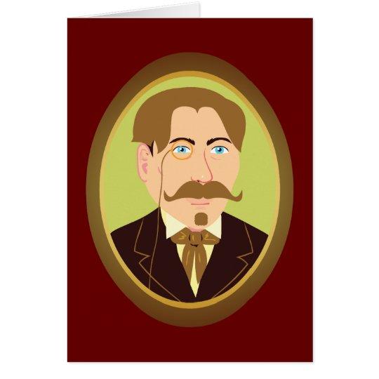 Victorian Gentleman Portrait Card