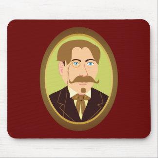 Victorian Gentleman Portrait Mouse Pad