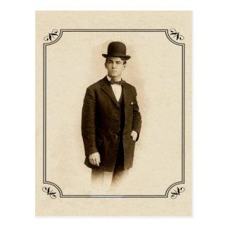 Victorian Gentleman Postcard