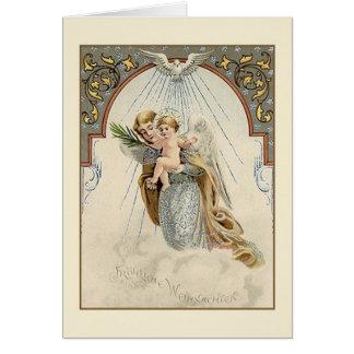 Victorian German Religious Christmas Card