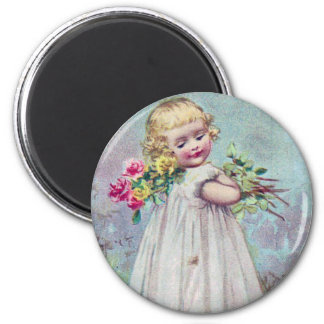 Victorian Girl Magnet