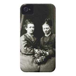 Victorian Girlfriends Case-Mate iPhone 4 Cases