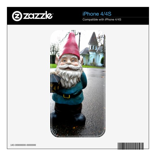 Victorian Gnome Decal For The iPhone 4S