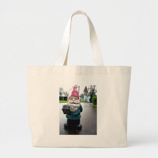Victorian Gnome Large Tote Bag