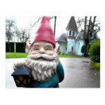 Victorian Gnome Postcard